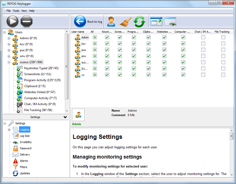 FREE Keylogger for Windows 7 | Download Free!